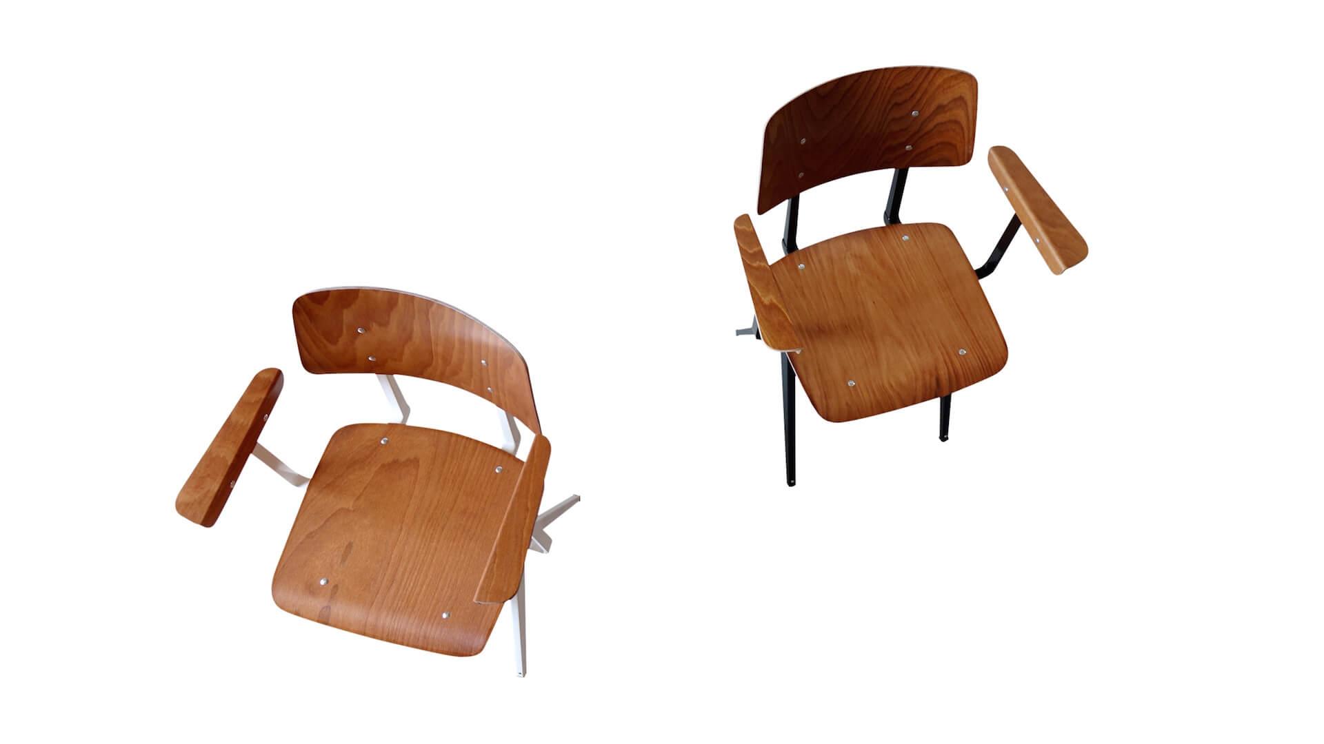 galvanitas s.16 arm chairs